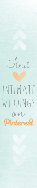 Intimate Weddings on Pinterest