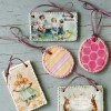 DIY Wedding Favors: Cookie Ornaments with Vintage Illustrations
