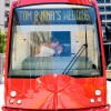 Real Weddings: Nina and Tom's Jolly Trolley Wedding