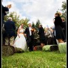 Ceremony Seating: Hay Bales For Your Wedding