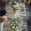 Long Tables for Your Wedding: Hot Trend for 2010