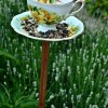 Homemade Bird Feeder From Vintage Teacups: DIY Wedding Favors & Gifts