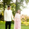 Real Wedding: Dallas and Rich's Thai/Southern Wedding in NC