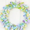 DIY Shabby Chic Fabric Wreath