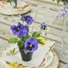 DIY Pansy Favors