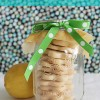 Lemon Shortbread Cookie Favors