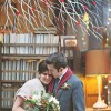 Ann Arbor Winter Wine Bar Wedding: Michelle and Tristan