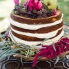 The Naked Wedding Cake