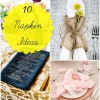 10 Inspired Ideas For Napkins
