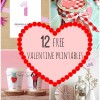 We Heart It: 12 Free Valentine Themed Printables