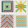 DIY Geometric Fused Bead Coasters