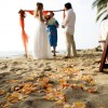 Real Weddings: Lindsay and Tim's Beach Destination Wedding in Mexico