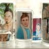 DIY Wedding Photo Jar Frames