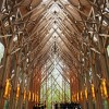 Glass Chapel in the Woods