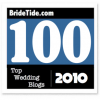 Bride Tide Top 100 Wedding Blogs