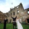 Real Weddings: Reisha and Scott's Destination Wedding in Scotland