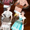 Vintage Fashion Illustrations: DIY Place Card Dolls