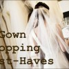 Wedding Dress Shopping Checklist: 5 Must-Have Items