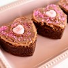 Recipe for Brownies: Cookie Cutter Hearts