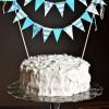 DIY Cake Bunting: No Sew!