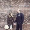 Real Weddings: Elysia & Kris' NY Apartment Wedding