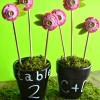 DIY Chalkboard Flower Pot Favors from Michaels