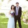 Real Weddings: Andrea & Moaya's Spontaneous Ranch Wedding