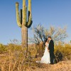Real Weddings: Stephanie and Daniel's Arizona Backyard Wedding