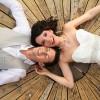 Real Wedding: Arynn & Devron's Garden Elopement