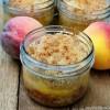 Peach Crisp in-a-Jar: DIY Favors