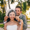 Real Wedding: Courtney and Bradlee's Beach Wedding