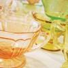 Vintage Wedding Find: Pink Depression Glass