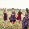 Bold and Bejeweled: Jewel-toned Bridesmaid Dresses