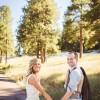 Real Weddings: Liz and Jack's Evergreen Lake Elopement