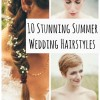10 Stunning Summer Wedding Hairstyles