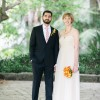 Megan and Zsolt's Santa Barbara Courthouse Garden Wedding