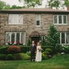 Leigha and Todd's $5,000 Ontario Backyard Wedding