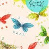 DIY Escort Cards: Easy Paper Butterflies