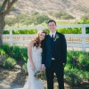 Roya and Ryan's Colorful California Cabin Wedding