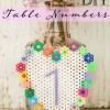 DIY Fused Bead Table Numbers