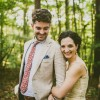 Sarah and Tim's North Carolina Woodland Wedding