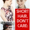 Short Hair, Don't Care: 10 Updos for Short Haired Brides
