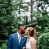 Hali and Brandon's Lake Hartwell At-Home Wedding