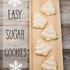 DIY Easy Sugar Cookies