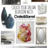 Create Your Dream Bedroom with the Crate and Barrel Wedding Registry