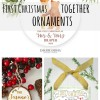 15 First Christmas Together Ornaments: 2016 Etsy Gift Guide