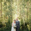 Elisha and Michael's $7,000 Lodge Wedding