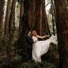 Sarah and Alex's Small Wedding in the Forest