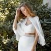 10 Elegant Short Bridal Capes from Etsy