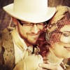Real Weddings: Julie and Jon's Art Nouveau DIY Wedding in California